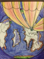 Interstellar Tundra - Crash Landing by SassyDragon18