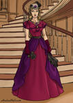 Persephone - Vampire Lady in 19th century Dress by SassyDragon18
