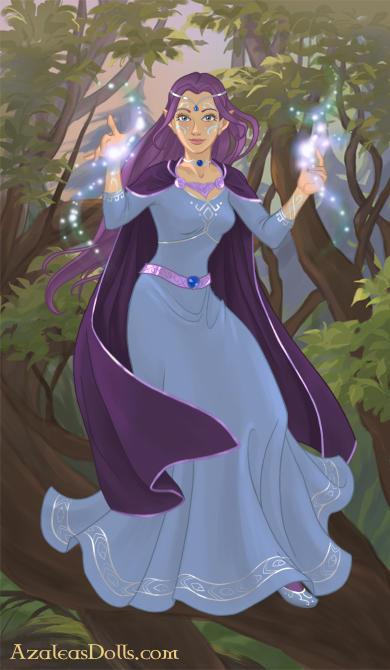 Sassy Dragon - Elf form in Dress