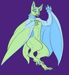 Emma - Anthro Bat form by SassyDragon18