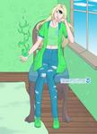 Emma - Cyclops Girl form by SassyDragon18
