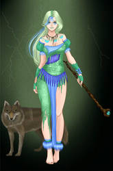 Emma - Witch Doctor form by SassyDragon18