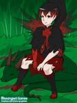 Crimson Cole the FireRose Fairy by SassyDragon18