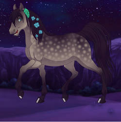 Emma - Normal Horse form by SassyDragon18