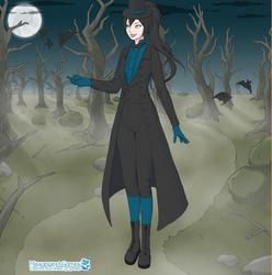 Kiara BlueDeath's Human Vam Form