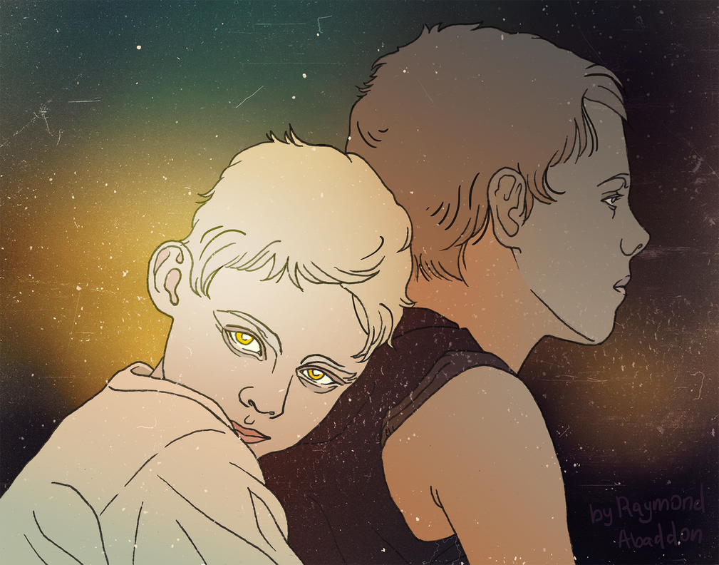 Brothers: childhood by rai-mond