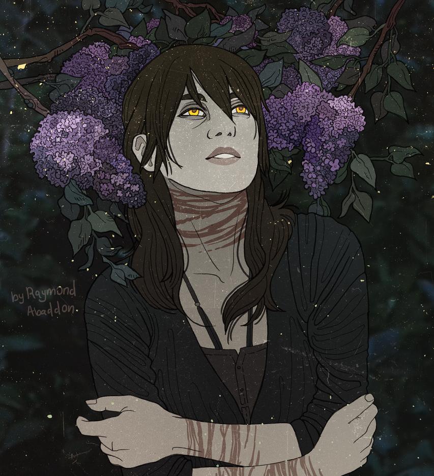 Flower Series. Sarin - lilac by rai-mond