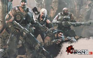 Gears of War 3 by LogrusChaos