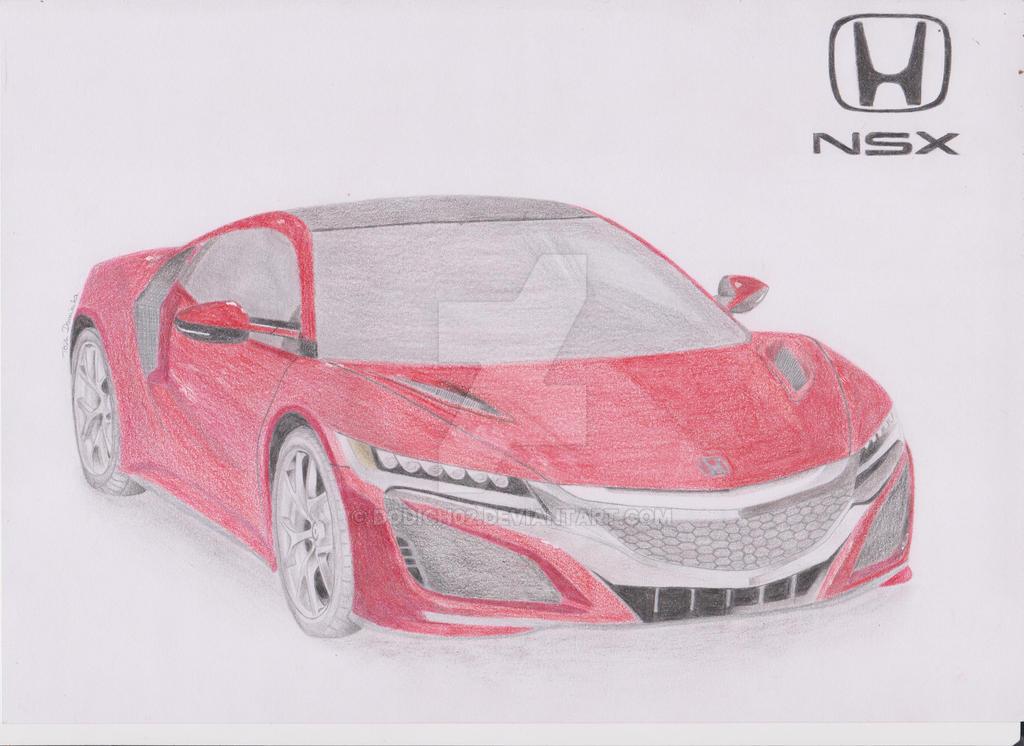 Honda NSX by dodich02