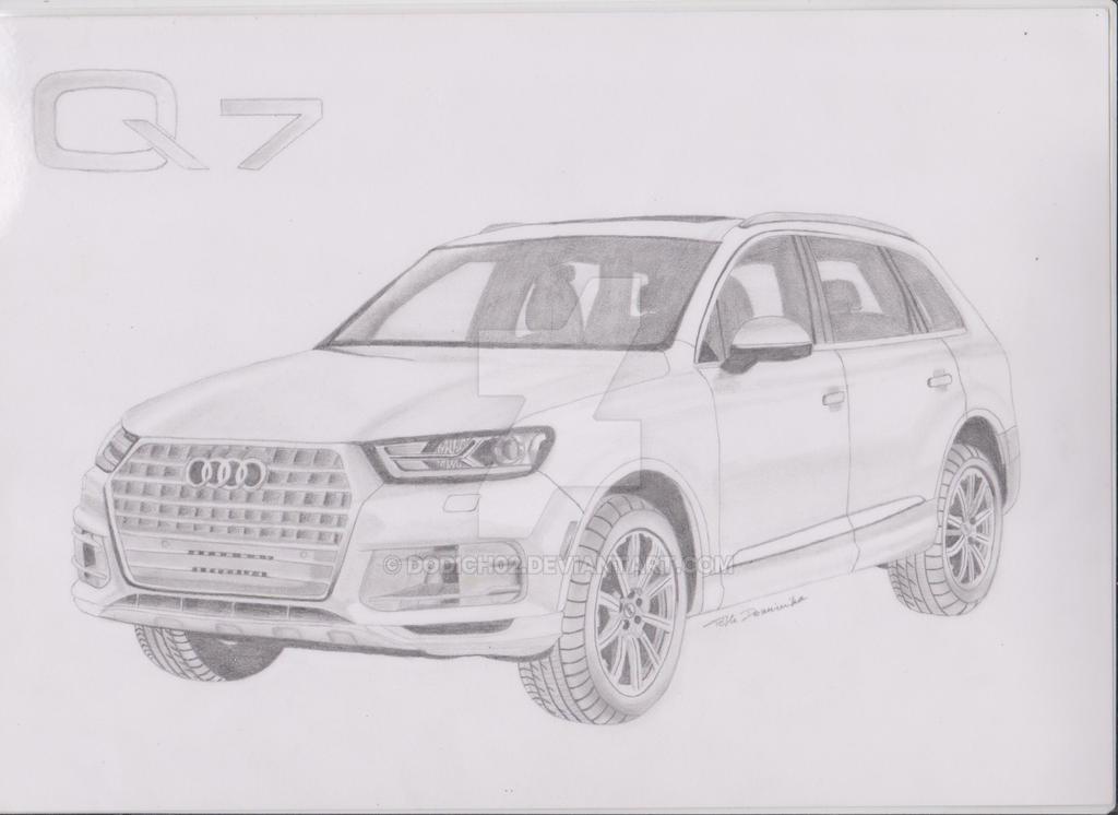 Audi Q7 by dodich02