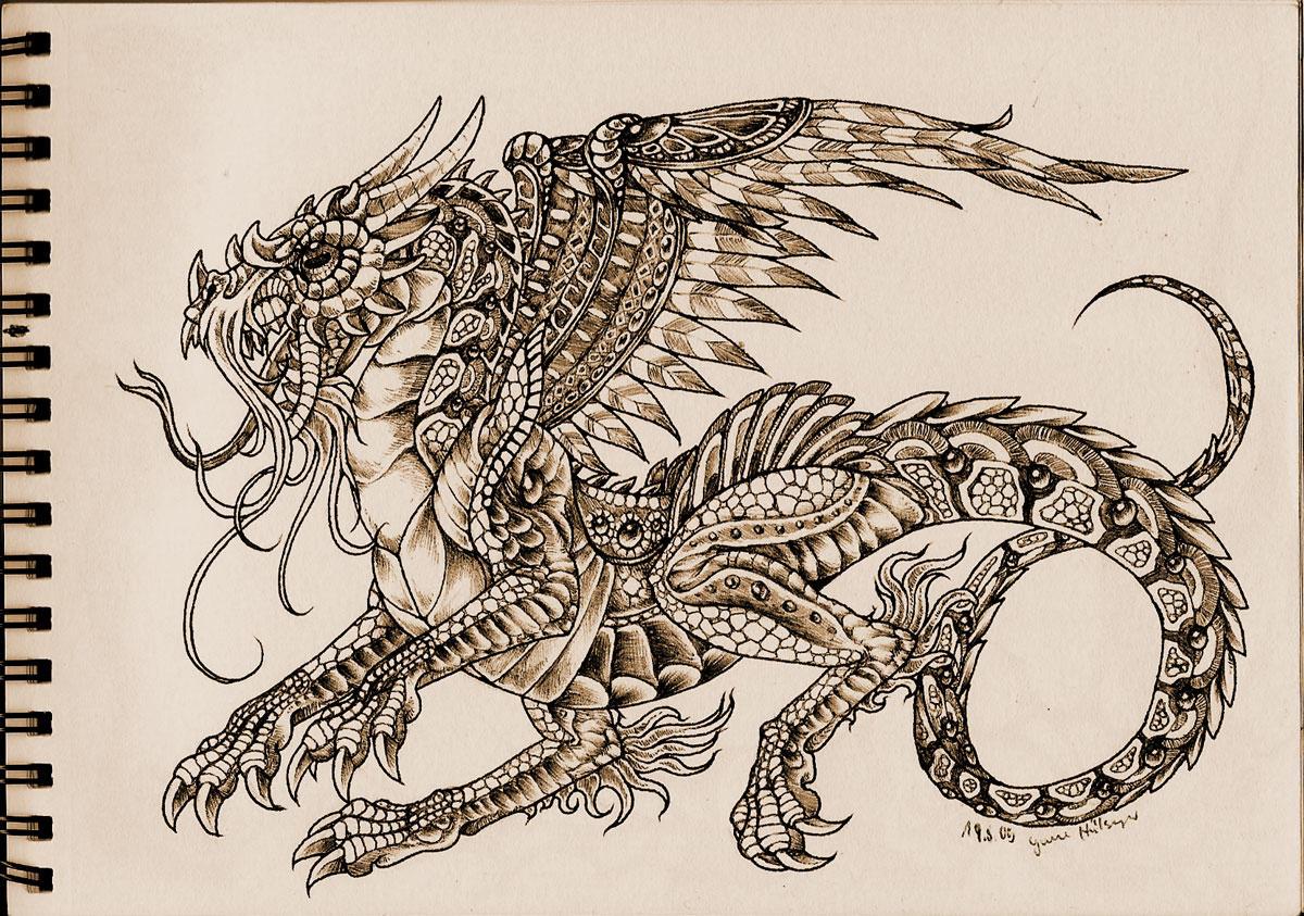 Dragon by Wieseldrache