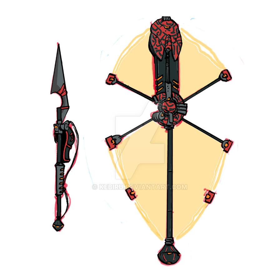 Kuva Zulu 2 weapon copy by Kebiru