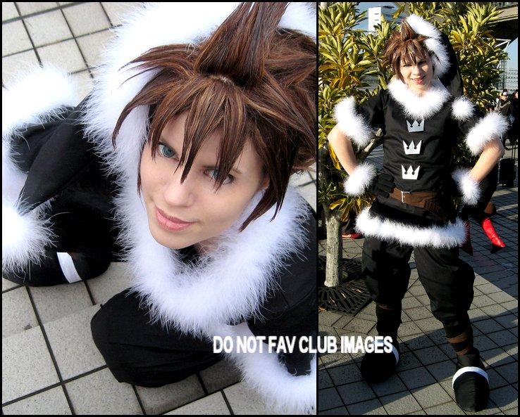 Sora Christmas Town Cosplay.Christmas Town Sora By Newcosplayclub On Deviantart