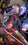 Hiromasa and Seimei from Onmyoji game