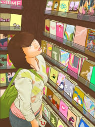 In The Book Store