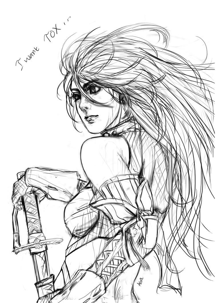 Milla TOX fan art by ARISA777o-w-o