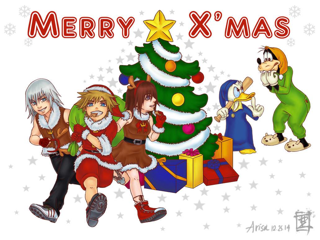 Merry Christmas! (KH Ver.) by ARISA777o-w-o