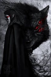Fen'harel the Dread Wolf by ARISA777o-w-o