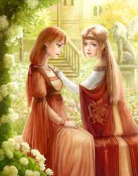 Commission: Alma and Ovelia by ARISA777o-w-o