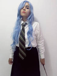 Slytherin!Juvia Cosplay #1