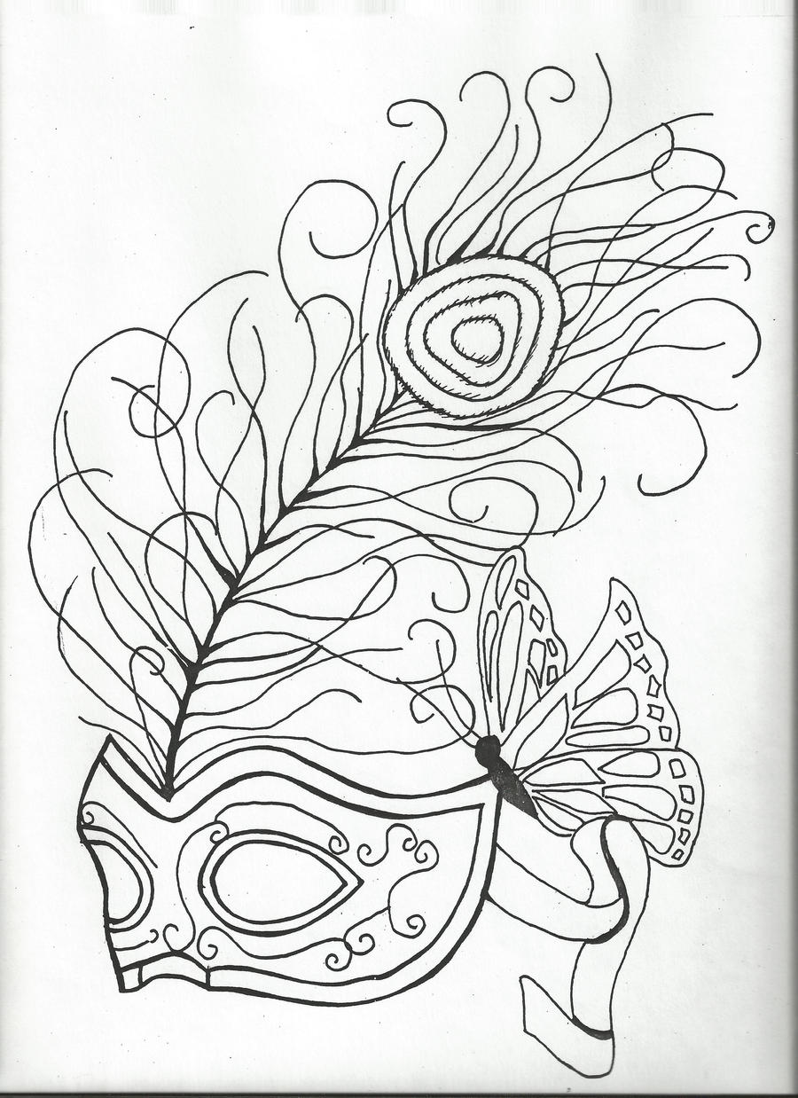 Tattoo Drawing Outline : Tattoo design outline by obsessiveartist on deviantart