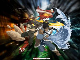 Legend of Korra by HenshinGeneration