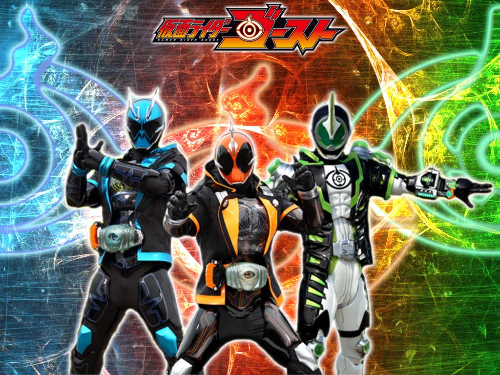 Kamen Rider Necrom: Kamen Rider Ghost Trio: Ghost, Spectre, Necrom By