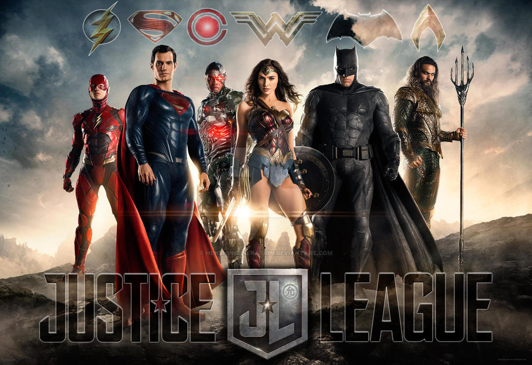 Justice League Official First Look by HenshinGeneration