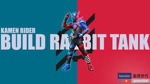 Kamen Rider Build: Rabbit Tank Wallpaper