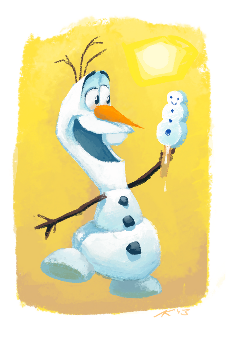 Frozen - Olaf (with video link) by andrewk