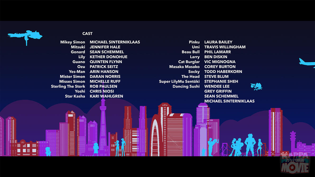 Kappa Movie Credits 01 A by andrewk