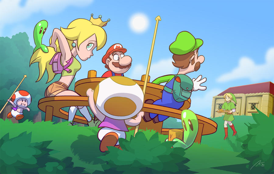 Lunch South Of Hyrule by andrewk