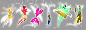 Jack Magic Model Sheet- Fairy