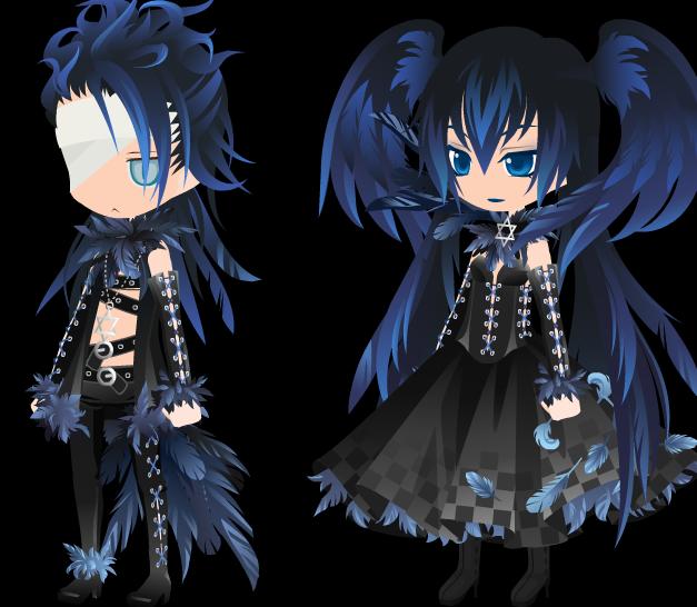 Dark Raven King and Queen*** by LoveMeDead1234 on deviantART