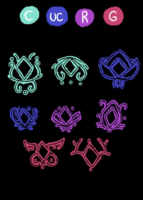 yumepluf elemental symbols by stardragon nova on deviantart