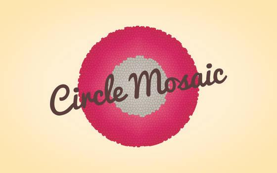 Circle Mosaic by TheWallboard