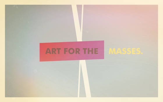 Art For The Masses by TheWallboard