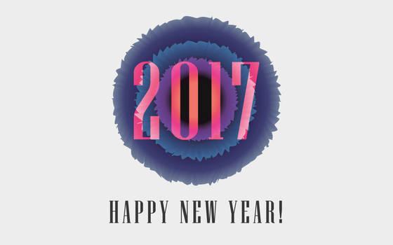 2017 - Happy New Year