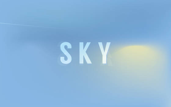 Sky by TheWallboard