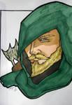 Green Arrow Headshot