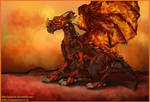 Magma Dragon by Yusecki