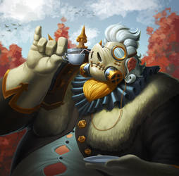 Fancy Roadhog by VanHarmontt