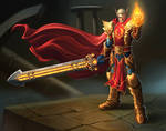 Commission: Blood Knight