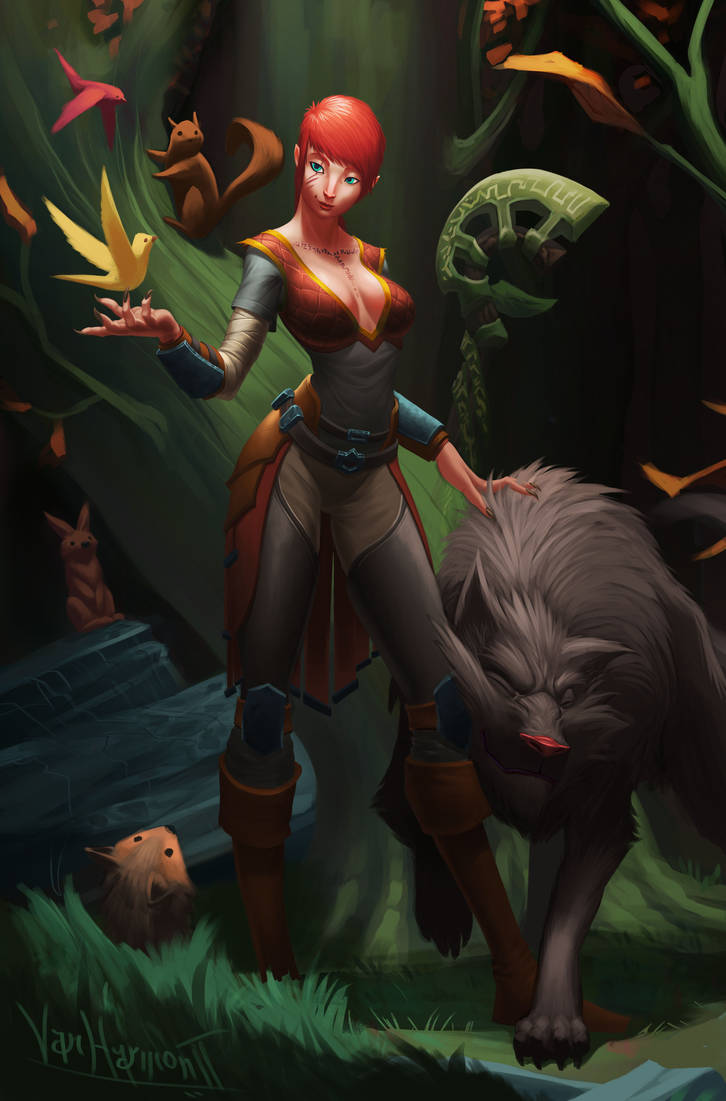 Commission: Sonya by VanHarmontt