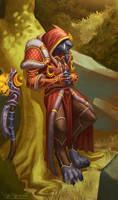Worgen Druid by VanHarmontt