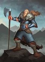Viking Portriat by VanHarmontt
