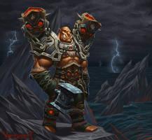 Orc shaman by VanHarmontt