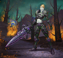Undead Warrior by VanHarmontt