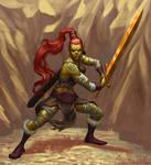 Githyanki Barbarian