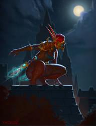 Rogue in Stormwind by VanHarmontt